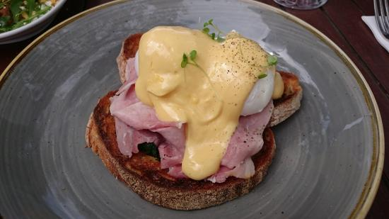 The Boathouse: Eggs Benedict