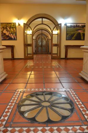 Bodega Luigi Bosca Familia Arizu : Lugar de degustación