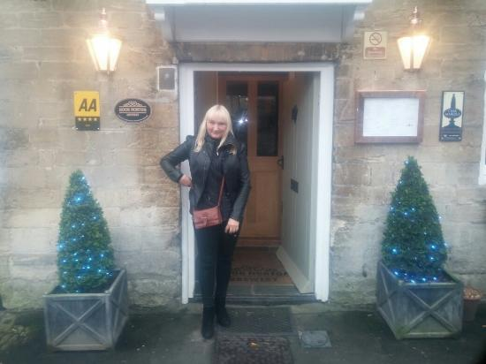 The Angel at Burford: great food and great service