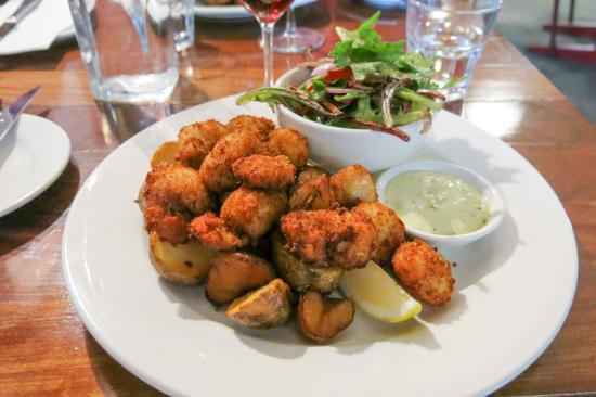 Shipwright's Arms Hotel : Tasmanian scallops