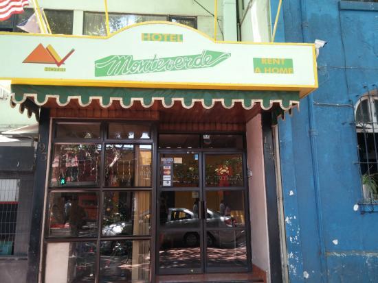 Monteverde: Frente de lhotel