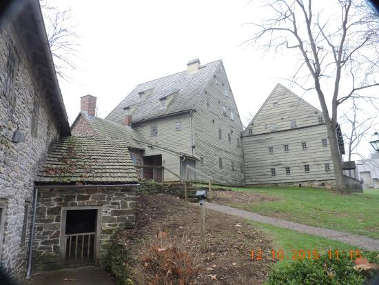 Ephrata, PA: Meeting house and sisters' house