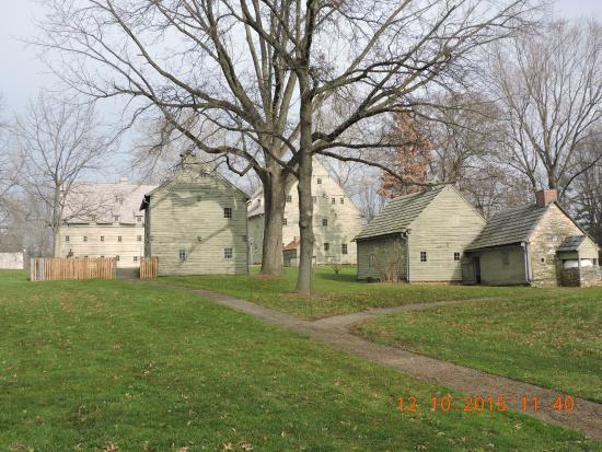 Ephrata, PA: a group ofthe original buildings