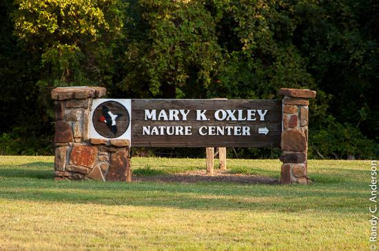 Mary K. Oxley Nature Center: Entrance