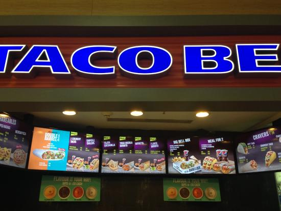 Mouthwatering Options Taco Bell At Oberoi Mall