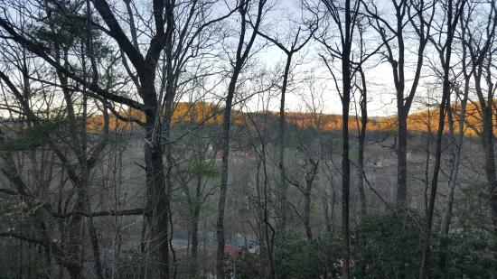 Alpine Crest Resort: View of Helen, GA while outside on grounds