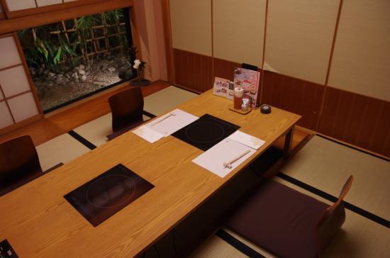 Kisoji Tanashi: 個室