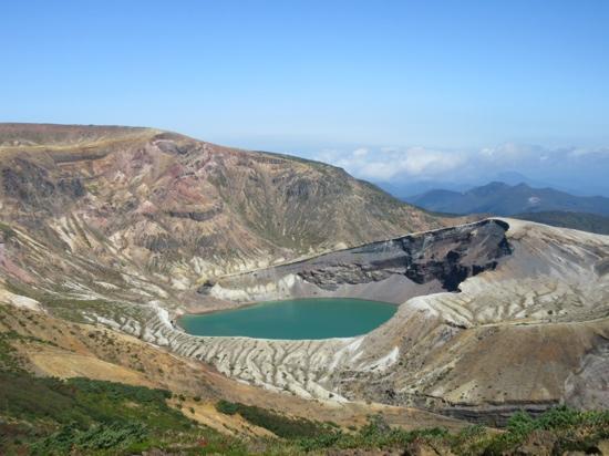 Okama Crater : 御釜火口