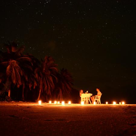 North Huvadhu (Gaafa Alifu) Atoll: Local Dinner under the stars :) Amazing experience with Pearl Beach View