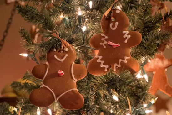 Occidental, CA: Gingerbread Cookies avaialble at the cafe