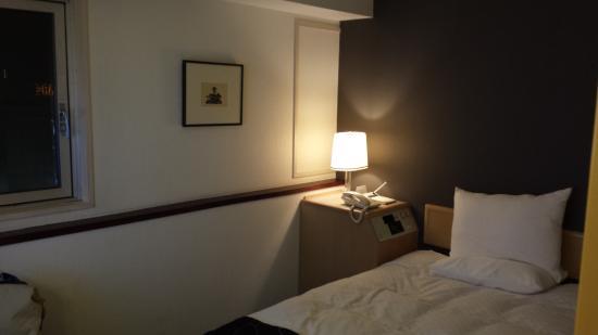 Hotel The Centre Utsunomiya: ベットルーム