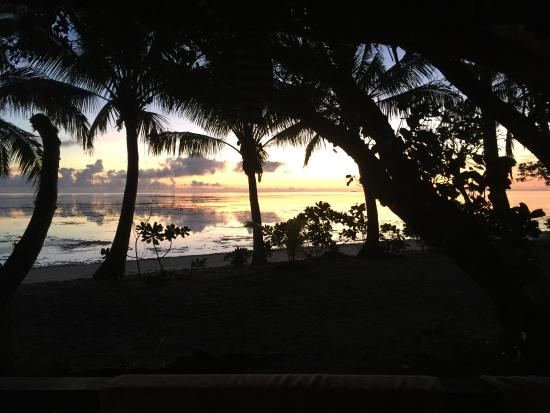 Leleuvia Island, Fiji: Dawn patrol