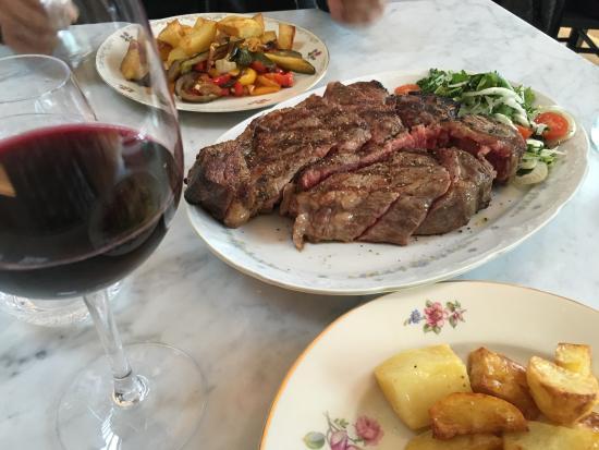 Y Felinheli, UK: Bistecca Alla Fiorentina