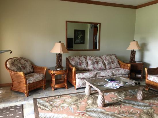 Poipu Kai Resort: Ruang keluarga
