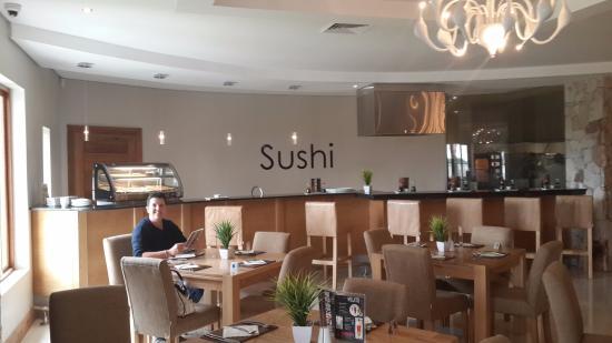 Addo, Sydafrika: Sushi bar