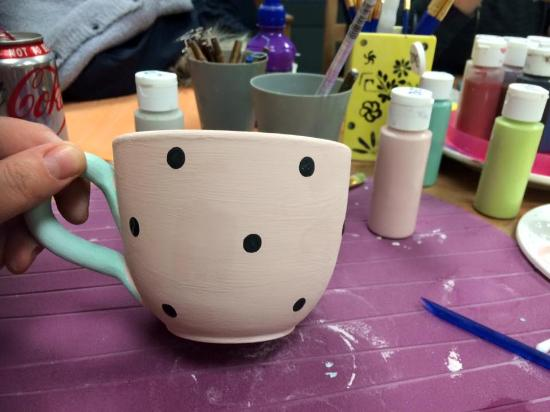 Happy Hands Pottery Painting
