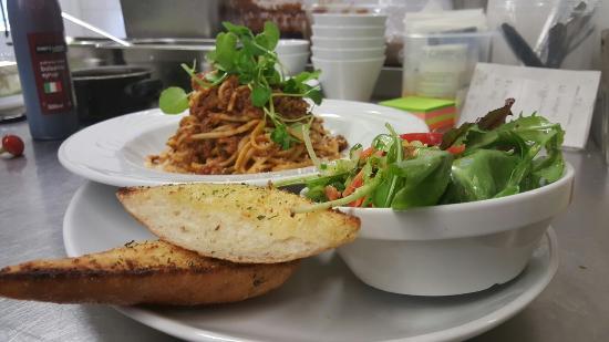 Llangadog, UK: Red Lion amazing food