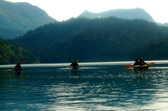 Kachemak Bay Wilderness Lodge: A day in the sun.