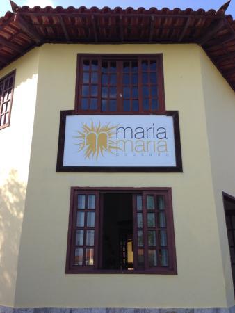 Pousada Maria Maria : Front of pousada