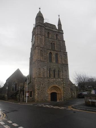 Lydd, UK: Church exterior