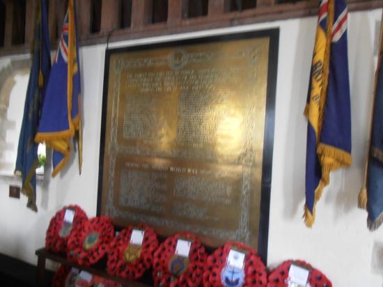 Lydd, UK: War memorial
