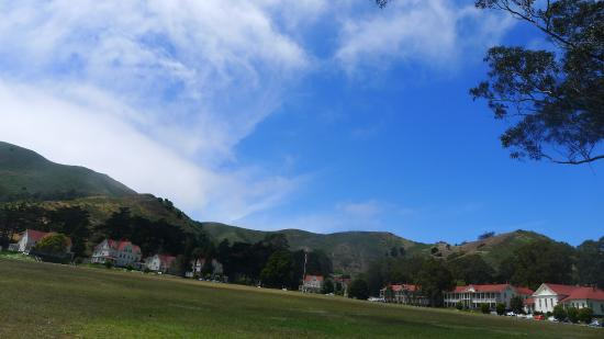 Cavallo Point: sweeping, open grounds