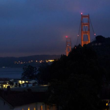 Cavallo Point: view from room