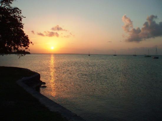 Sarteneja, Belice: Sonnenuntergang