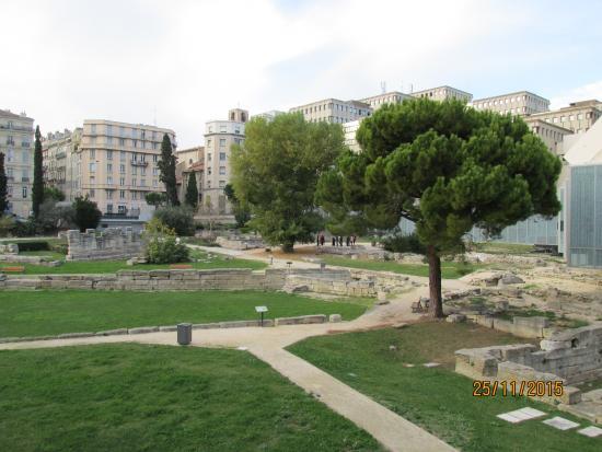 Jardin des Vestiges : Сад развалин