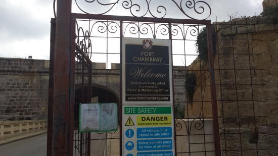 Ghajnsielem, Malta: Fort Chambray
