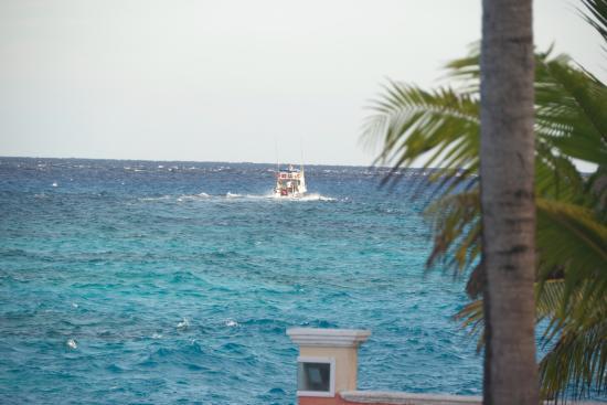 Villa Aldora: ocean view off the balcony