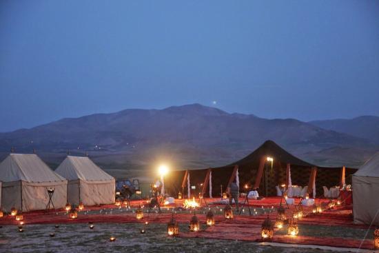 Riad du Sud - Kasbah Hotel: une nuit plien des toile