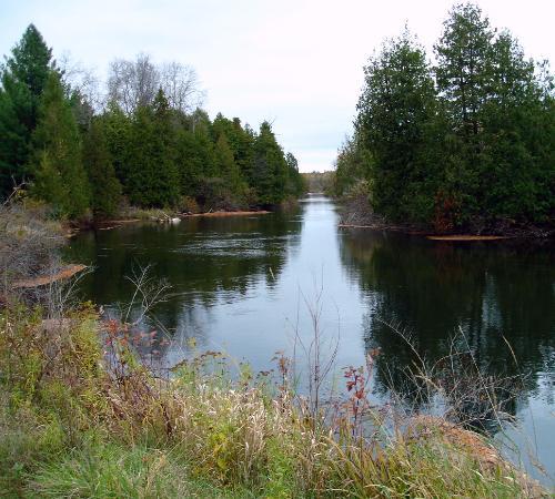 Grand Traverse Natural Education Reserve: The beautiful Boardman River