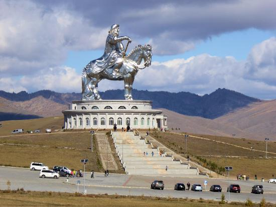 Genghis Khan Statue Complex, general view to give good idea of the size