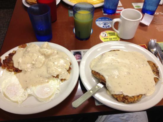 Chino, Калифорния: Chicken Fried Steak