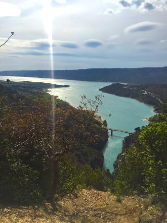 Parc naturel régional du Verdon : озеро Сент-Круа