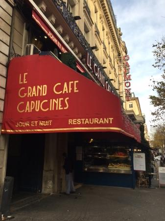 Coffee with desserts - Picture of Le Grand Cafe Capucines, Paris ...