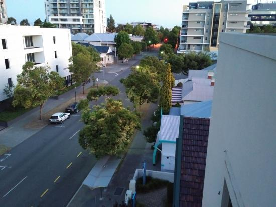 Wyndham Outram Perth: View towards Hay Street