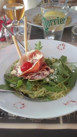 Contrexeville, Francia: Spaghetti alla genovese