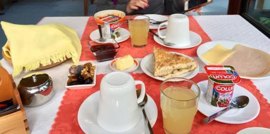 Hotel Interlaken: Desayuno del hotel