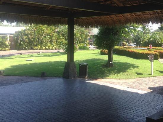 El Roble, Costa Rica: From the lobby to the driveway