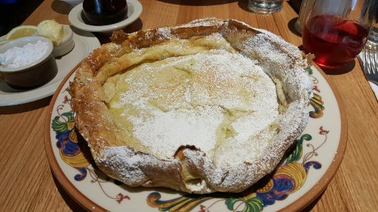 Silverdale, WA: German Pancake. Best one I've had in a long time.