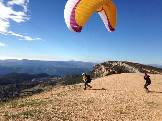 Ager, Spania: Iniciando la carrera...