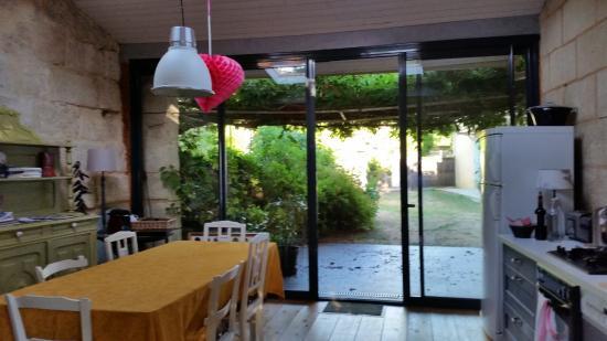 Gauriac, Франция: Ruimte voor ontbijt en vrij zitten