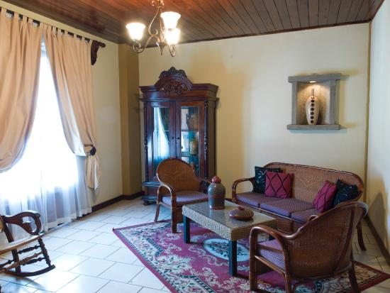 Hotel Alhambra: Suite Living Room with adjoining Bedroom