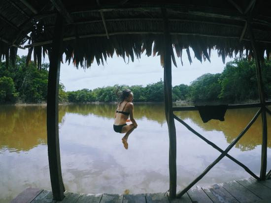 Abundancia Amazon Eco Lodge : River cannonballs