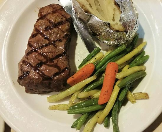 Westlock, Canada: Senior six oz steak