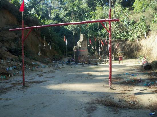 Ziro, India: At Siv Linga