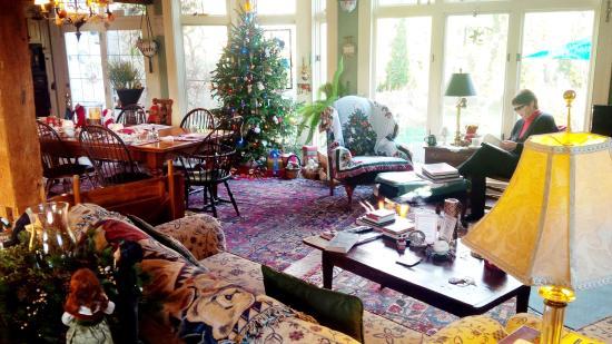 Chadds Ford, Pensilvania: Inn interior - Sitting Room