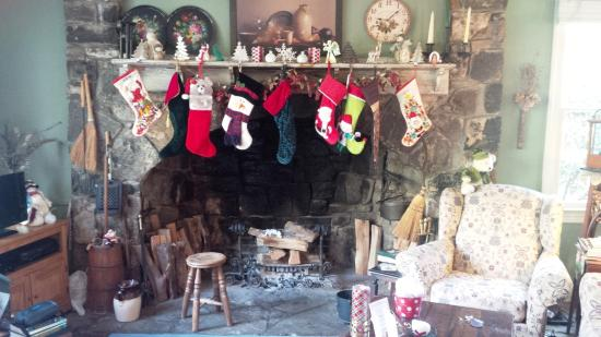 """Chadds Ford, Pensilvania: """"...the Stockings were hung by the chimney with care..."""""""